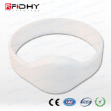 NFC Silicone Wristband - Ultralight - Oval Face - White - Xx-Small
