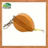 Bamboo Mini Type Measuring Tape / Measure Tape