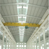 Pre Fabricated Steel Structure Factory Warehouse Buildings with Crane