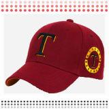 100% Polyester Long Bill Baseball Caps No Brand