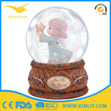 80mm Resin Glass Water Dome Snow Globe Gift for Kid