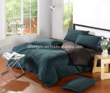 100%Cotton Sateen Luxury Solid Color Bunk Size Bed Cover