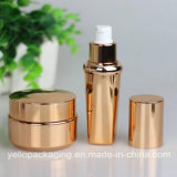 Gold Plating Bottle Face Cream Bottle Emulsion Bottle Cosmetic Bottle