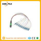 Duplex Sc-FC Single Mode Fiber Optical Patchcords 9/125 3m