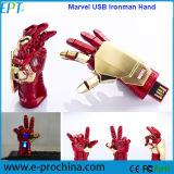 Customized Iron Man Shape Memory Disk USB Flash Drive (ED111)