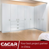 Image of Sweden Contracted White Piano Lacquer Cabinet Wardrobe (CA20-03)