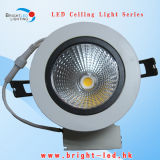 10W COB LED Ceiling Light, 360 Adjustable COB Ceiling Light