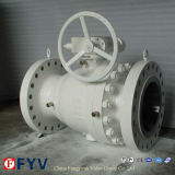 2 PCS Trunnion Mounted Reduced Bore Ball Valve