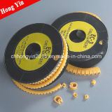Ec Series Plastic Electrical Cable Markers Plat Wire Maker