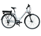Monca New Fashion Urban Electric Bike E Bicycle City Ride with 350W Brushless Motor Samsung Lithium Battery 120km Distance