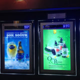 Advertising Light Box with Scrolling Message / Crystal Moving LED Frame