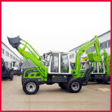 FM750 CE Approved Backhoe Loader