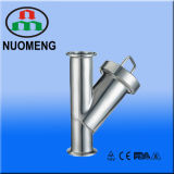 Sanitary Stainless Steel Clamped Y-Type Strainer (DIN-No. NM100208)