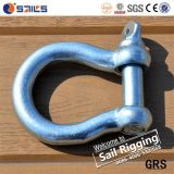 European Type Large Bow Safety Threaded Pin Crane Shackle