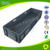 Plastic Logistic Turnover Box with Gold Stamp