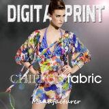2017 Newest 100% Polyester Printed Fabric Chiffon