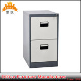 Metal Office Furniture 2 Drawer Storage Vertical Filing Cabinet