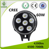 High Power 60W CREE LED Car Light for Jeep DC10-30V