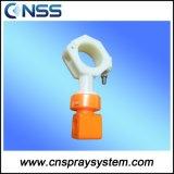 Split-Eyelet Hollow Cone Spray Nozzle for Pre-Treatment
