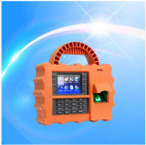IP65 Waterproof/Dustproof/Shockproof Biometric Portable Fingerprint Time Attendance with GPRS (TFT500P)