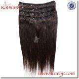 Clip Hair Remy Brazilian Human Hair Extensions