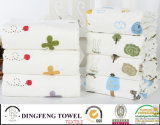 Nature Organic Printed 100% Bamboo Bath Towel Df-N140