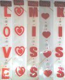 Acrylic Heart Garland 90cm (VA00040)