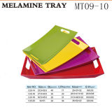 Serving Tray Sets, Square Melamine Handle Tray