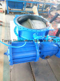 Double Flange Concentric Butterfly Valve with Pneumatic Acuator