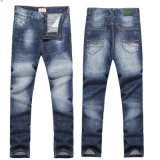 Fashion Casual Mens Straight Slim Fit Jeans Trousers Jean Pants