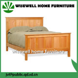 Pine Wood Knock Down Bed Flat Bed (W-B-0088)