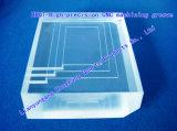 Quartz Plate Slotted Quartz Plate|Thick Quartz Plate|CNC High-Precision Thick Quartz Plate