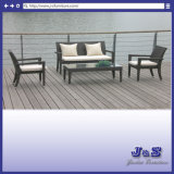 Outdoor Garden Wicker Sofa Set, Patio Rattan Furniture (J418)