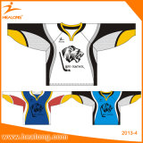Healong Cheap Digitally Sublimated Lacrosse Hockey Ball Jerseys Custom