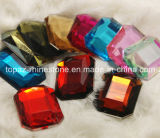 Rectangle Octagon Flat Back Acrylic Plastic Rhinestone for Table Decoration (FB-rectangle 30*40mm)