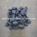 Polished Natural Black Pebble River Stone for Garden / Landscaping Decoration