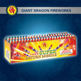 168 Shot Super Saturn Missile Fireworks Gd4026