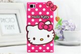 Kt Cartoon Mobile Phone Case Silinoce Cell Phone Case for iPhone Moto LG (DS-004)