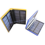 Foldable USB Solar Charger for Cell-Phone with LED Flashlight