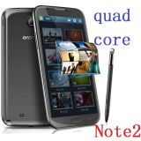 5.7inch IPS Screen Quad-Core 3G Android Smart Phone Note 2-N9599