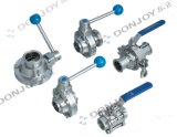 Stainless Steel Sanitary Butterfly-Type Ball Valve