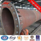 Conical HDG 12m Utility Poles for Power transmission