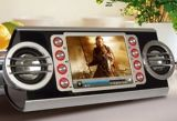 MP5 Player with Clock/Alarm/FM Radio/PC Woofer (HJ69)