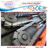 PE / PP Single Wall Corrugated Pipe Production Line