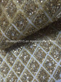 Shining Glitter and Lace Fabric for Garments