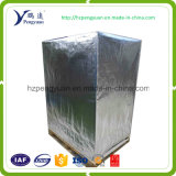 One Side MPET One Side Aluminum Foil Laminated with PE Woven Fabric for Pallet Cover