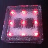 LED Solar Ice Brick Light with CE RoHS