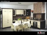 2015 Welbom Antique L Shape Vinyl Wrap Kitchen Furniture