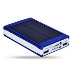 Waterproof Silicone Flashlight Solar 10000mAh Power Bank