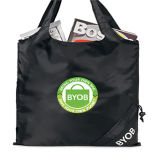 Reusable Fold Away Promotional Shopping Bag